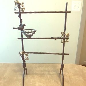 Necklace & ring holder- fun & unique jewelry stand